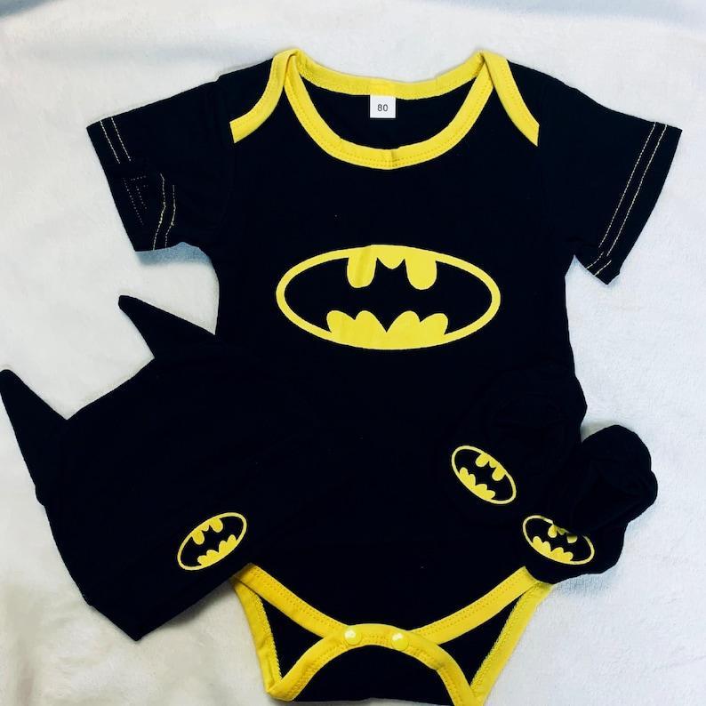 Batman Onesie Set