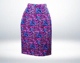 Marjani Red Skirt