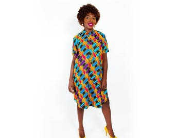Afya Lightweight Shirt Dress