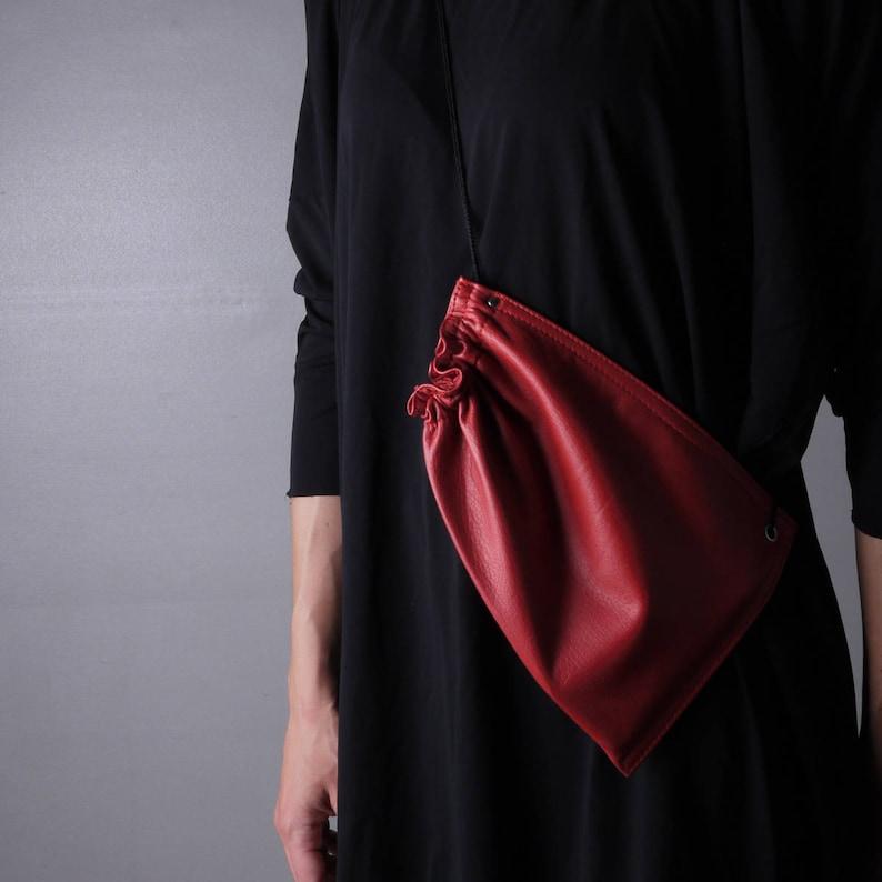 HANDBAG LEATHER Local Made Timeless Genuine Clutch Leather Minimalist Evening  Crossbody Bag Floor54