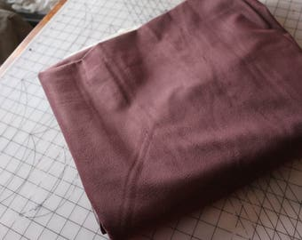 4 Upholstery fabric plum aubergine velvet feel 4