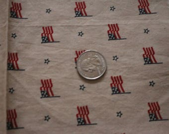 21 Patriotic Americana fabric Flags and stars  21