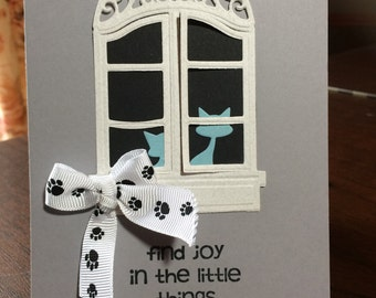 Find Joy Cat Card - Set of 5