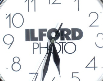 Wall Clock//Ilford Photo Clock//Home Decor//Wall Decor//DIY