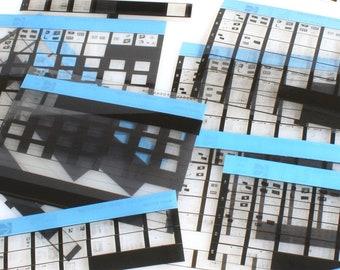 Kodak Microfiche Sheets//Microphotographs of Various Kodak Cameras//Microform