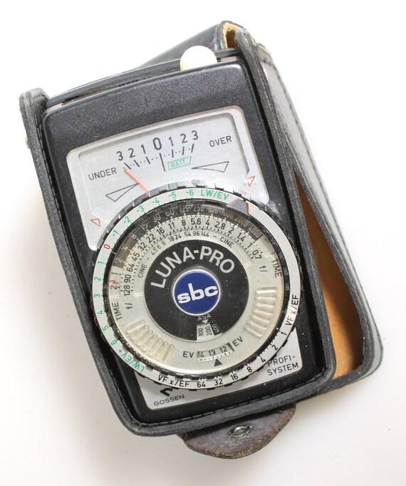 Inst Vintage Camera Accessory Practos Junior Cased Boxed Meter Nice-