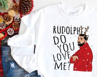 Drake Christmas Sweater Etsy