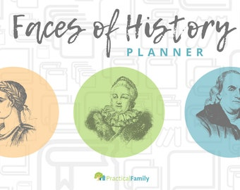Faces of History Planner - All Cycles