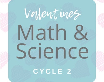Math and Science Valentines