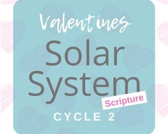 Solar System Valentines - SCRIPTURE