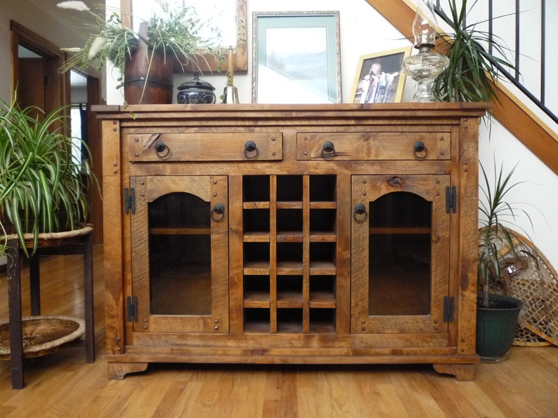 rustic sideboards rustic buffets wooden sideboards - 1024×767