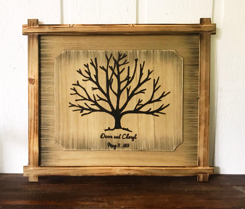 Exceptionnel Custom Tree Wood Burning Art | Pyrography | Wood Art | Personalized |  Boyfriend Gift | Personalized Gift | Wood Wall Art | Housewarming Gift
