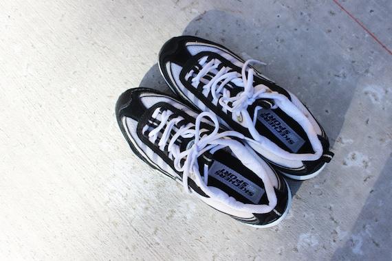 vintage Skechers Sport chunky futuristic y2k air m