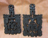 2 Cast Iron Trivets Vintage Cast Iron Trivet Vintage Pot Holder Vintage Cast Iron Wall Decor