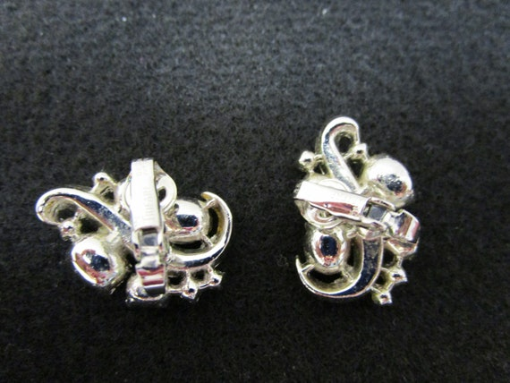 Vintage Crown Trifari Earrings Crown Trifari Pat … - image 4