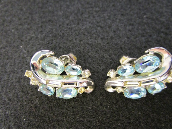 Vintage Crown Trifari Earrings Crown Trifari Pat … - image 10
