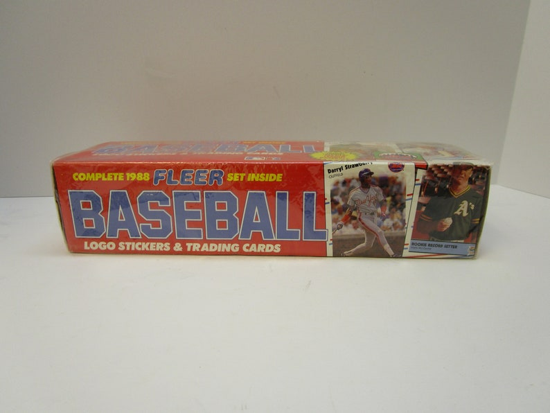 Complete 1988 Fleer Baseball Trading Cards Set New In Sealed Box 660 Trading Cards Major League Baseball Trading Cards Stickers Box Set