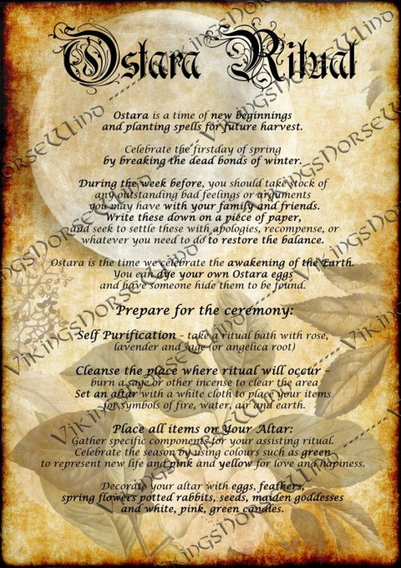 Book of Shadows Printable Grimoire Pages, Ostara Sabbat 11 PDF PAGES,  Spring Equinox Pagan Wheel of The Year Witchcraft BOS Pages, Wicca