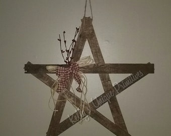 Country Star Decor Etsy