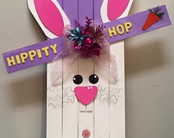 Easter Bunny Pallet Board