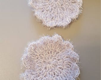 Crocheted scrubbies