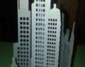 DIY 3D New York City skyl...
