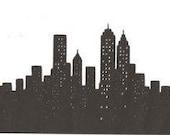 New York City Skyline vas...