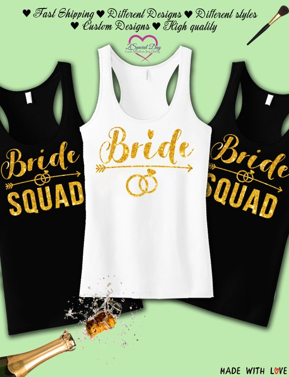 Bride Gang Bachlorette Party Mens Tank Top Shirt
