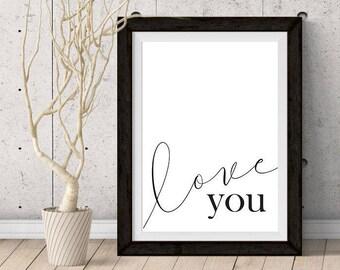 PRINTABLE: Love You