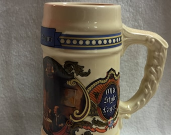 G. Heileman Brewing Company - Old Style Lager Stein (#016)