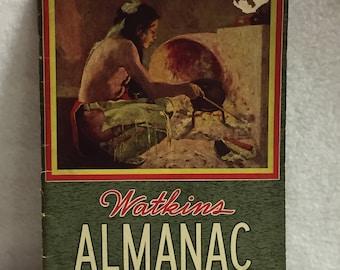 J.R. Watkins - 1942 Almanac (#010)