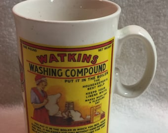 Vintage Watkins Collector Mug - Washing Compound (#020)