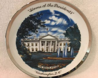 Small 'Home of the Presidents' Washington, D.C. Collector Plate (#021)