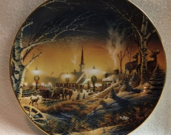 Heartland Collection - Terry Redlin Collector Plate - 'Night on the Town' (#339)