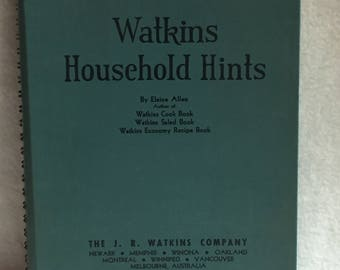 J.R. Watkins - 1941 Household Hints Book (#012)
