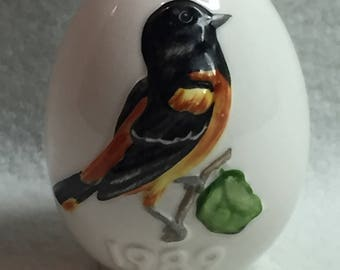 Goebel Bird Egg - Oriole (#129)
