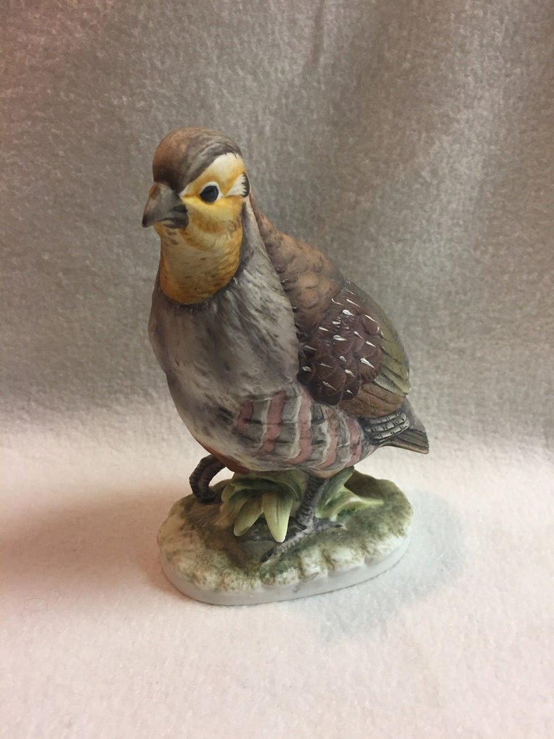 Lefton Hungarian Partridge Bird Figurine (#BCD070)