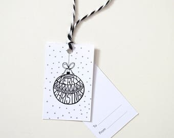 Christmas Gift Tags - Bauble