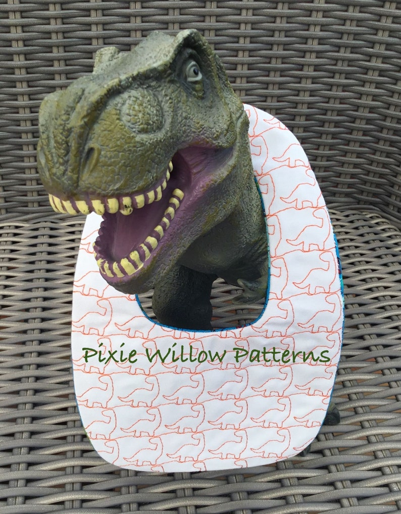 Re-usable Wipes Machine Embroidery Patterns Dinosaur Pattern Bibs Burp Cloth /& Wet Wipe Holder Patterns ITH Baby Gift Set
