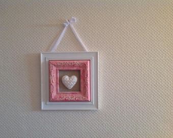 Frame with a heart