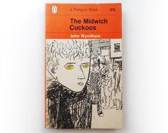 John Wyndham - The Midwich Cuckoos - Penguin science fiction vintage paperback book - 1964