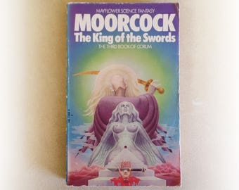 Michael Moorcock - The King of Swords - Mayflower science fiction vintage paperback book - 1974