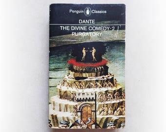 Dante - The Divine Comedy 2: Purgatory - Penguin vintage paperback book - 1971
