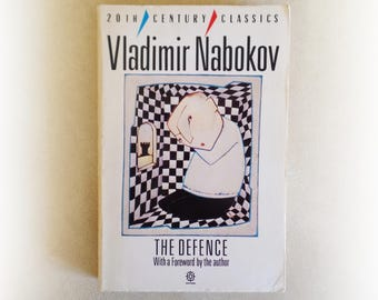 Vladimir Nabokov - The Defence - vintage paperback book - 1986