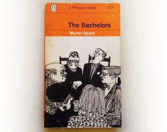 Muriel Spark - The Bachelors - Penguin vintage paperback book - 1963
