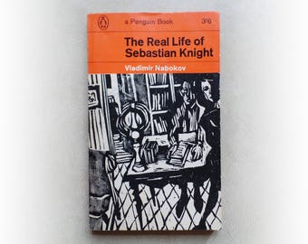 Vladimir Nabokov - The Real Life of Sebastian Knight - Penguin vintage paperback book - 1964