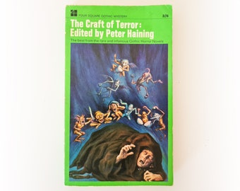 Peter Haining (Ed) - The Craft of Terror - horror fiction vintage paperback book - 1966