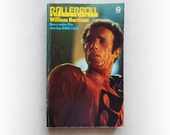 William Harrison - Rollerball - short stories science fiction vintage paperback book - 1974