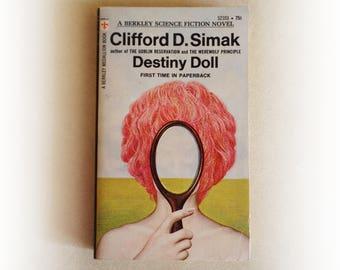 Clifford D Simak - Destiny Doll - science fiction vintage paperback book - 1971