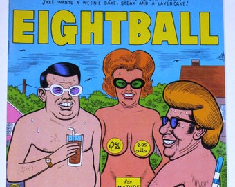 Eightball Comic No. 9 By Daniel Clowes
